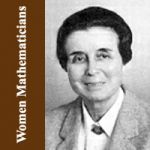 BIOGRAPHIES OF WOMEN MATHEMATICIANS